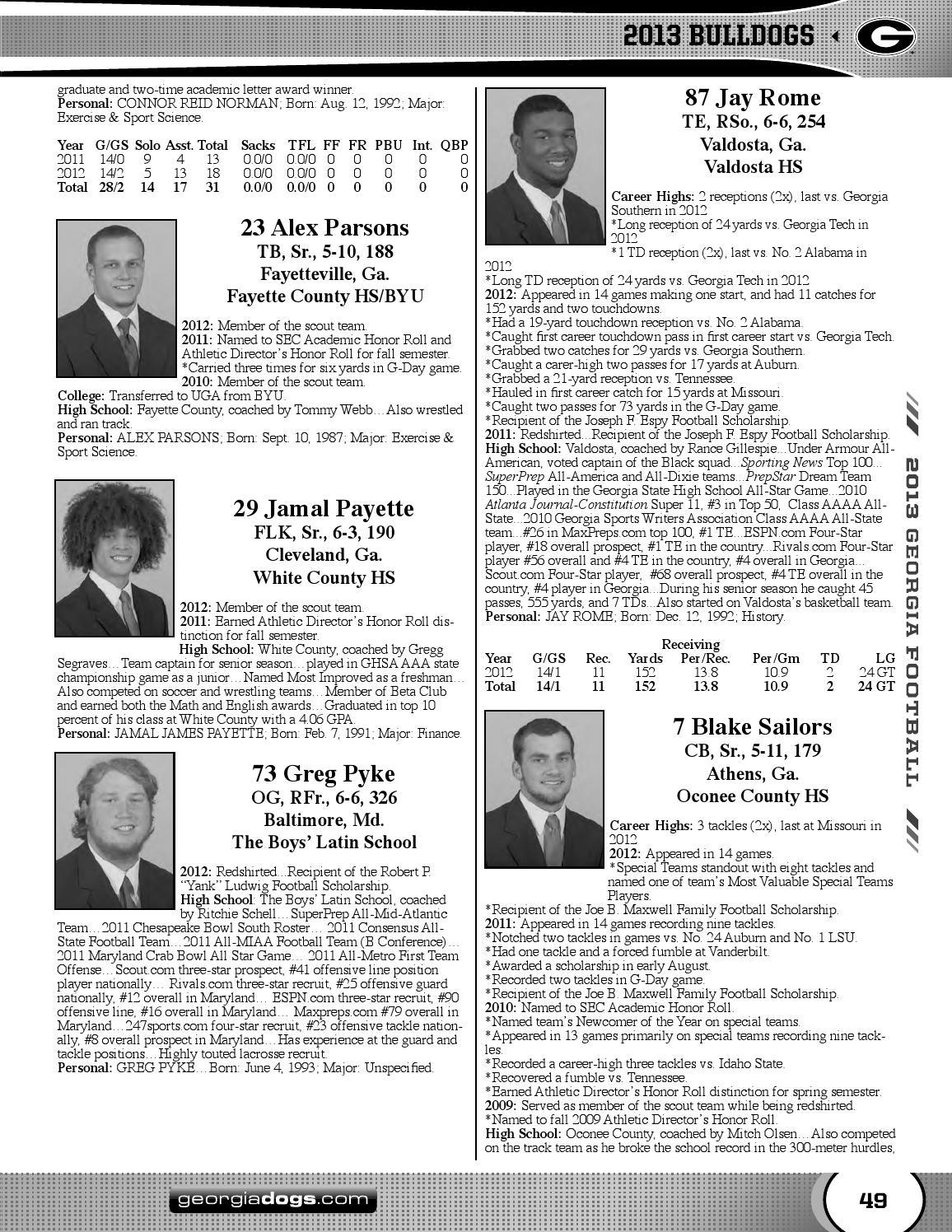 Georgia magazine january 2012.