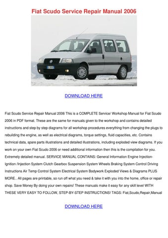 fiat coupe service repair manual 1993 2000 download