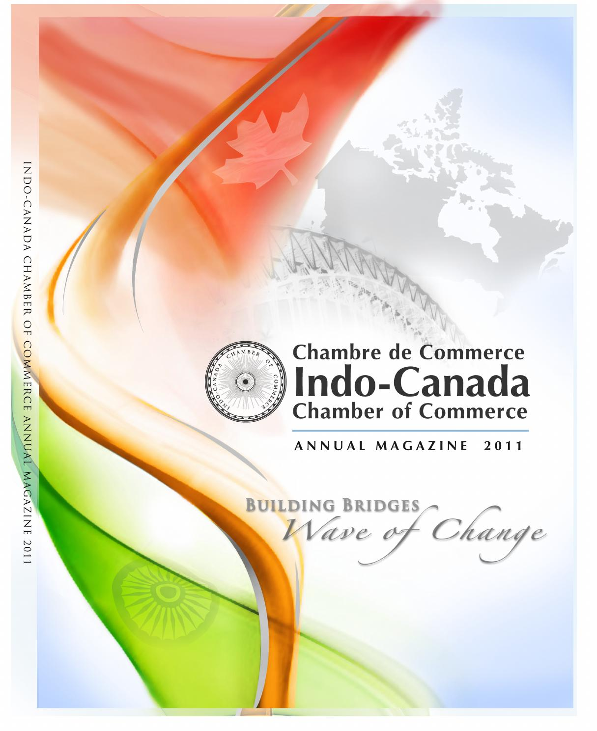 Indo canada chamber of commerce by indo canada chamber of for Canadian chambre of commerce
