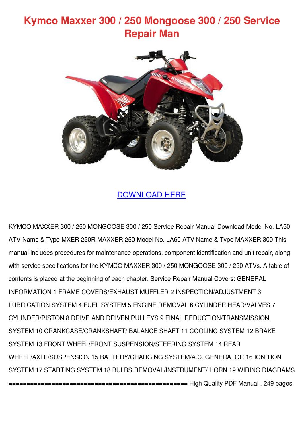3FBD9 Kymco Mongoose 250 Wiring Diagram | Wiring Resources on kymco mxu 375, kymco agility 50cc moped, kymco mxu 300, kymco mxu 250, kymco atv, kymco mxu 150, kymco mxu 450i, kymco mxu 500, kymco utv, kymco 90 aftermarket parts, kymco side by side parts, kymco 50cc scooter top speed, kymco uxv 500,