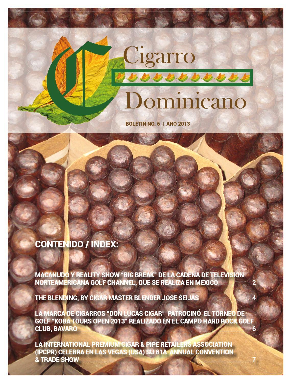 Cigarro Dominicano 6@ Edición, Publicación Propiedad de