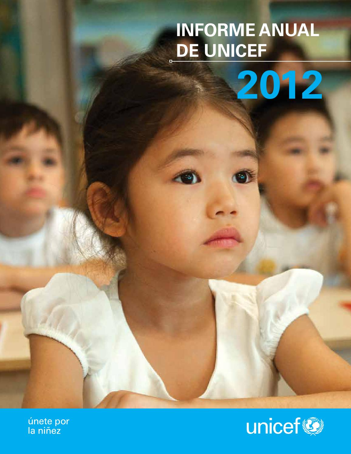 Informe Publications Issuu De York By New Unicef Anual 2012 5qA3j4RcL