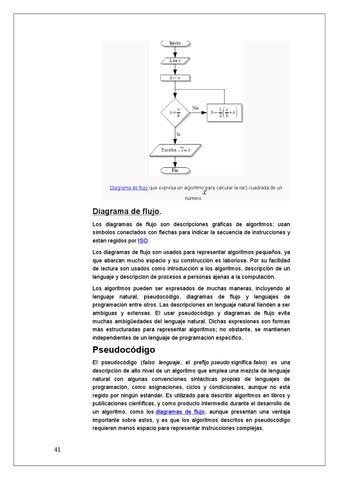 Manual de algoritmo y diagrama de flujo by daina issuu diagrama de flujo que expresa un algoritmo para calcular la raz cuadrada de un nmero ccuart Gallery