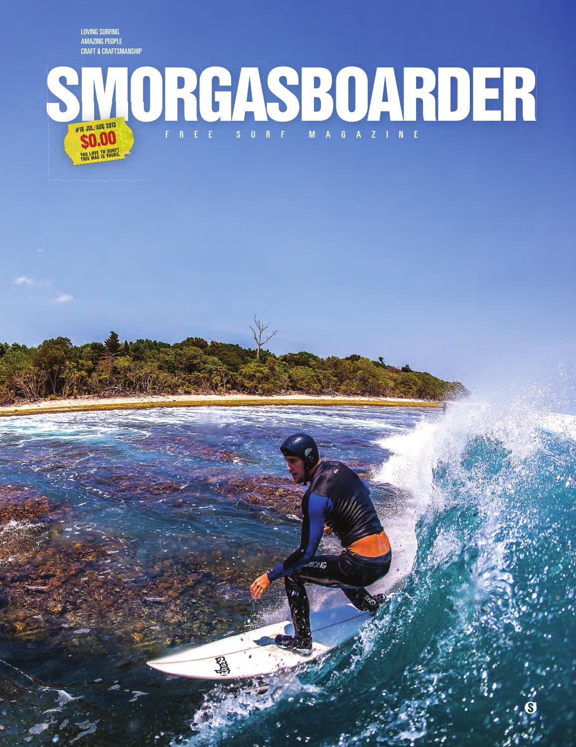 c2ecd4dcc1c2 Smorgasboarder 18 - July 2013 by Smorgasboarder Magazine - issuu
