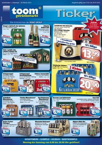 Toom Getränkemarkt Katalog gültig bis 20/07 by broshuri - issuu