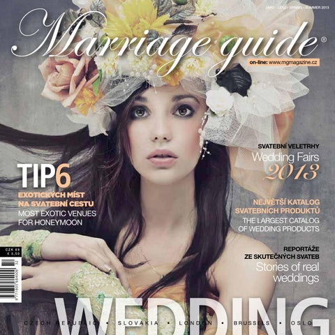 Marriage Guide Spring Summer 2013 By Kollman Partners S R O Issuu