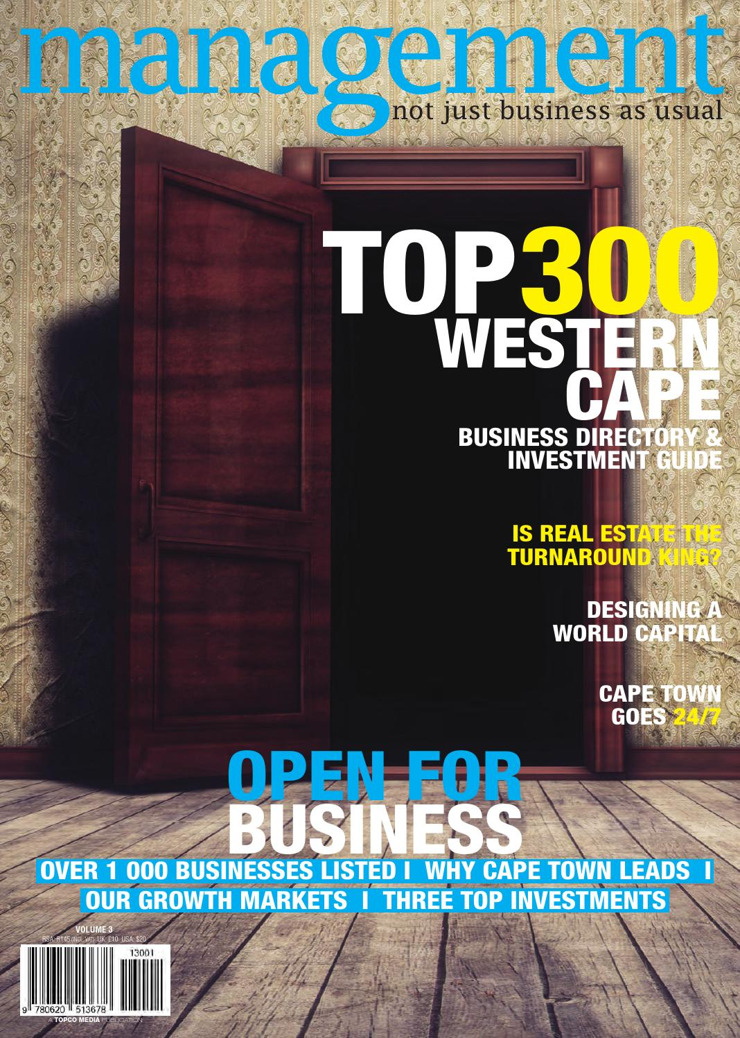 Top300 Western Cape by Topco Media - issuu