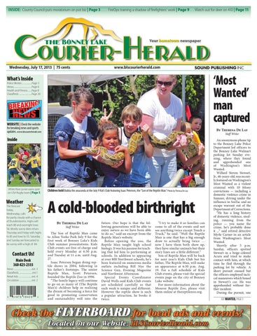 Bonney Lake and Sumner Courier-Herald, July 17, 2013 by