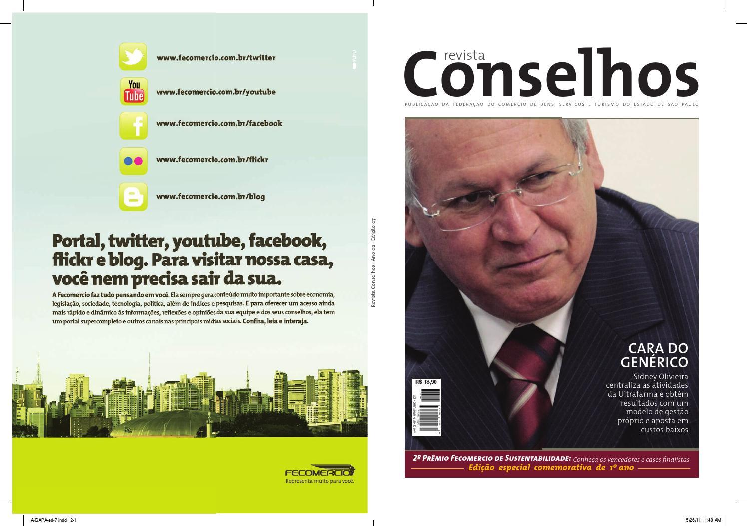 Revista Conselhos - Edição 7 (Maio Junho 2011) by Enzo Bertolini - issuu 52eed4c946