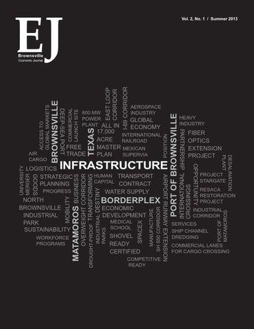 Brownsville (Texas) Economic Journal Summer 2013 by Brownsville