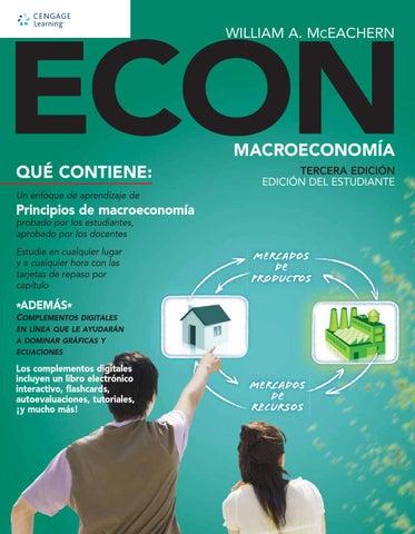 Resultado de imagen para Econ: macroeconomía. - Tercera edición