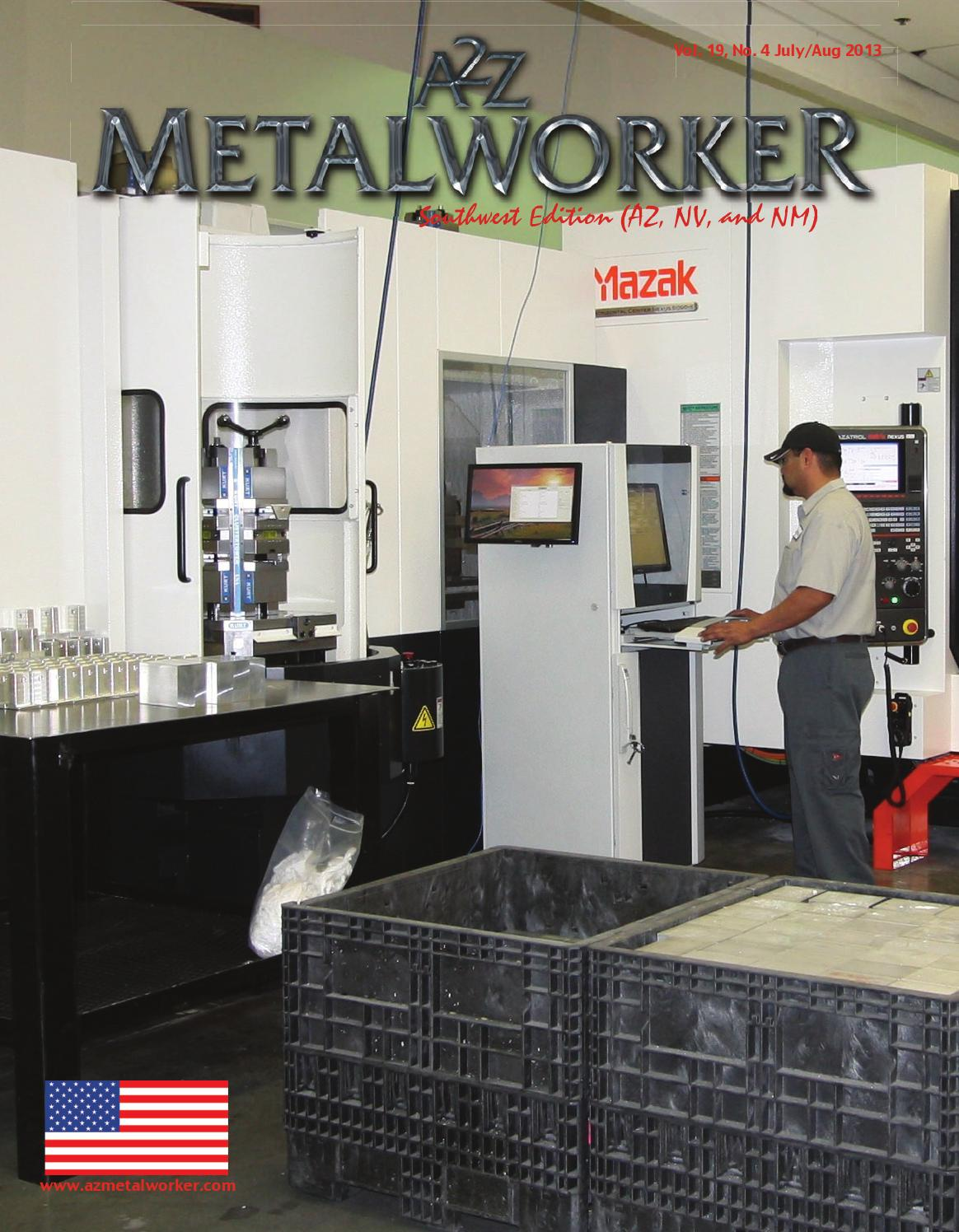 July revised issue reduced by A2Z Manufacturing Magazines