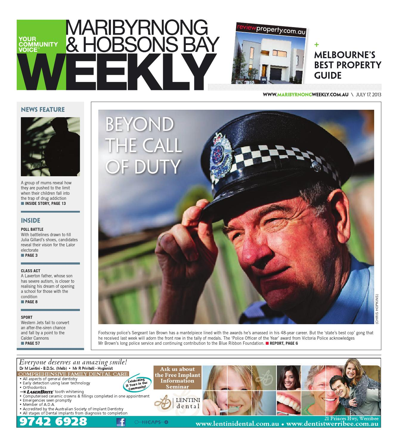 Maribyrnonghobsonsbayweekly170713 by the weekly review issuu fandeluxe Images