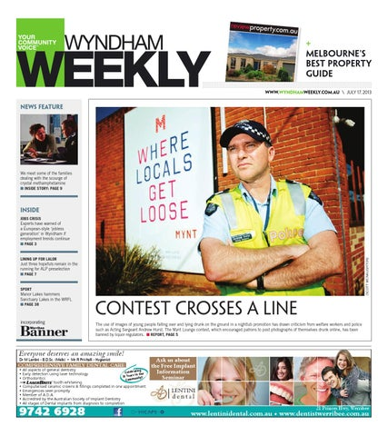 4c48a32c17a1b Wyndhamweekly170713 by The Weekly Review - issuu