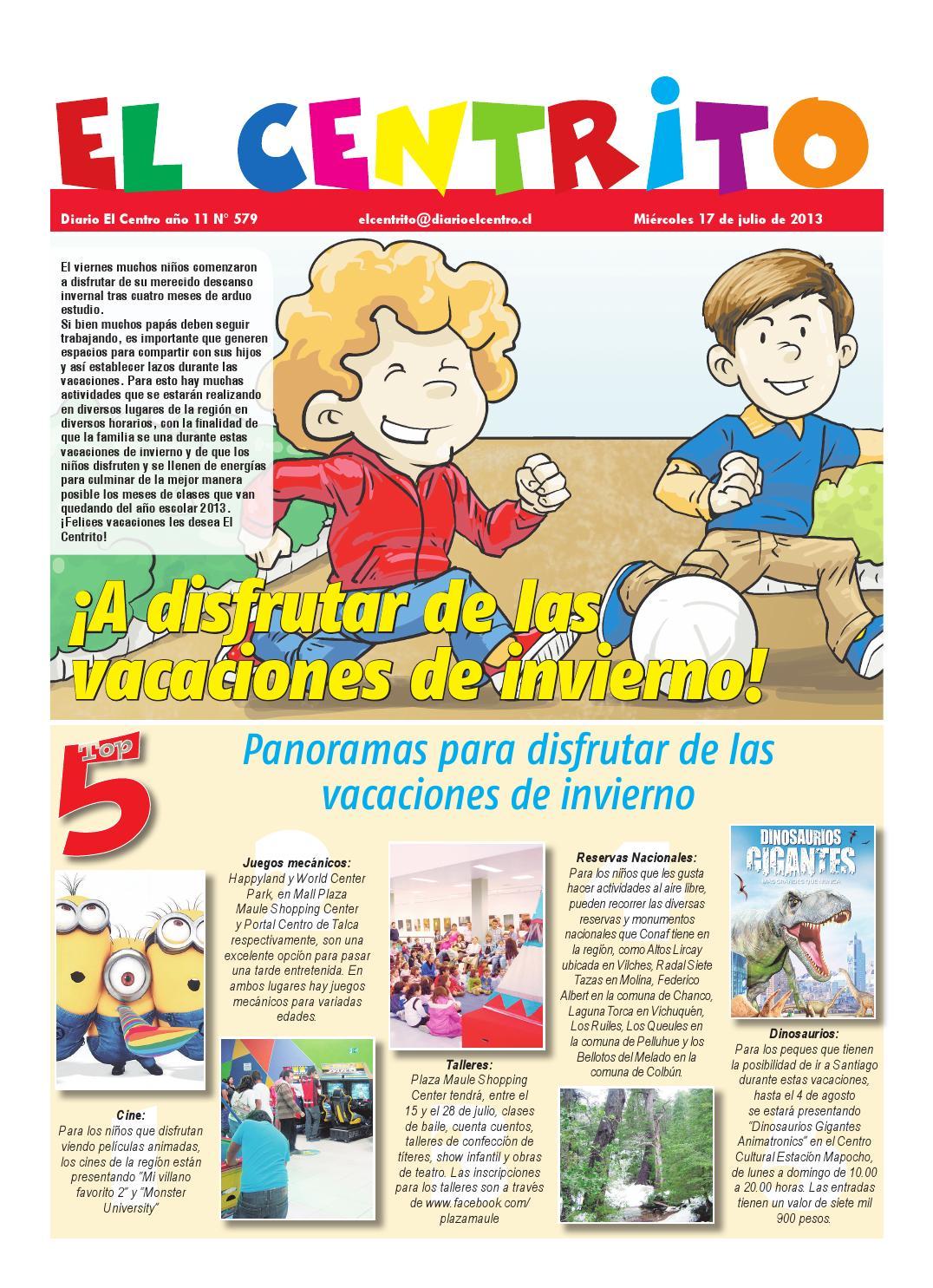 Centrito 17 07 2013 By Diario El Centro S A Issuu