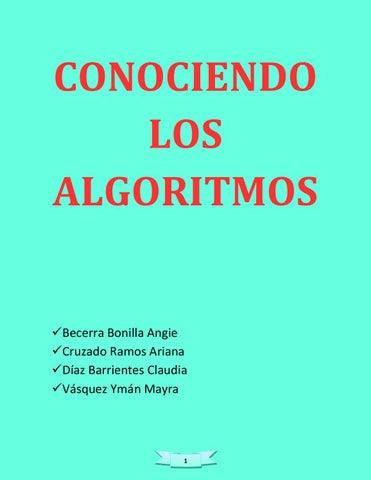 Conociendo los algoritmos reparado claudia diaz by claudia diaz page 1 ccuart Choice Image