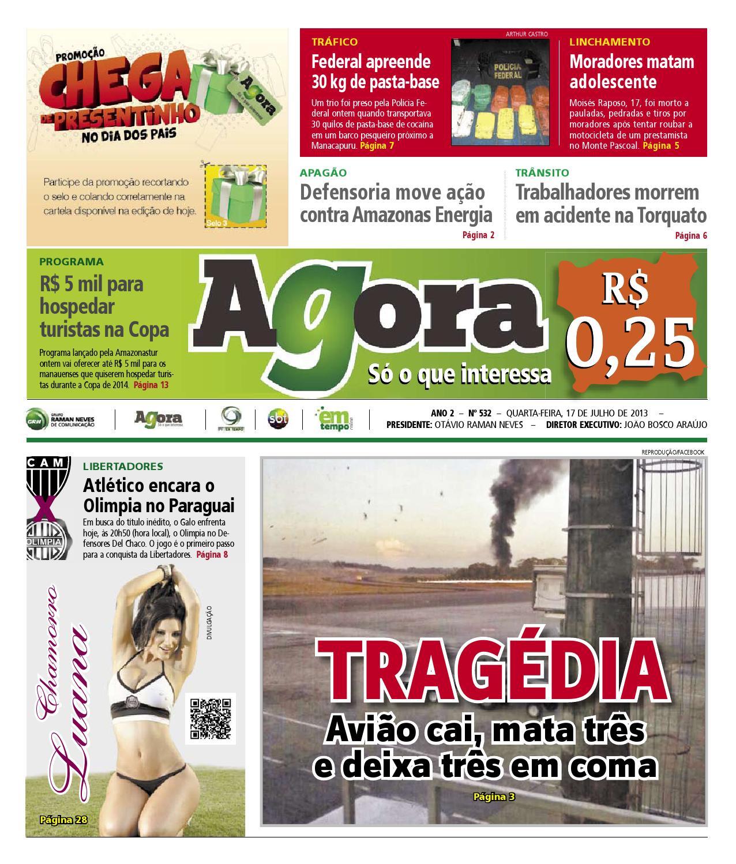d9dd3d059 Agora - 17 de julho de 2013 by Amazonas Em Tempo - issuu