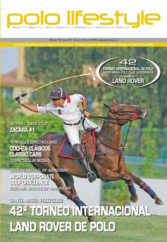 Polo Lifestyle nº18 Summer 2013 by PSMK premium sports   marketing ... 2f29f6915374b