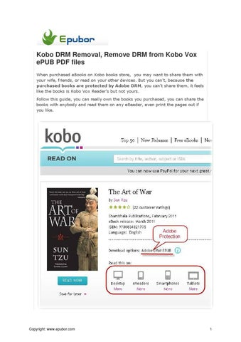 Kobo Books Epub