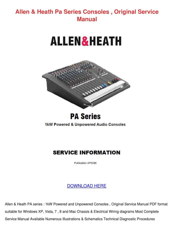 allen heath pa12 cp manual