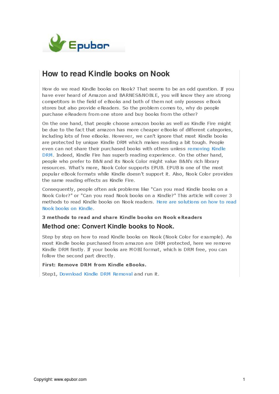 How To Remove Drm From Kindle Books