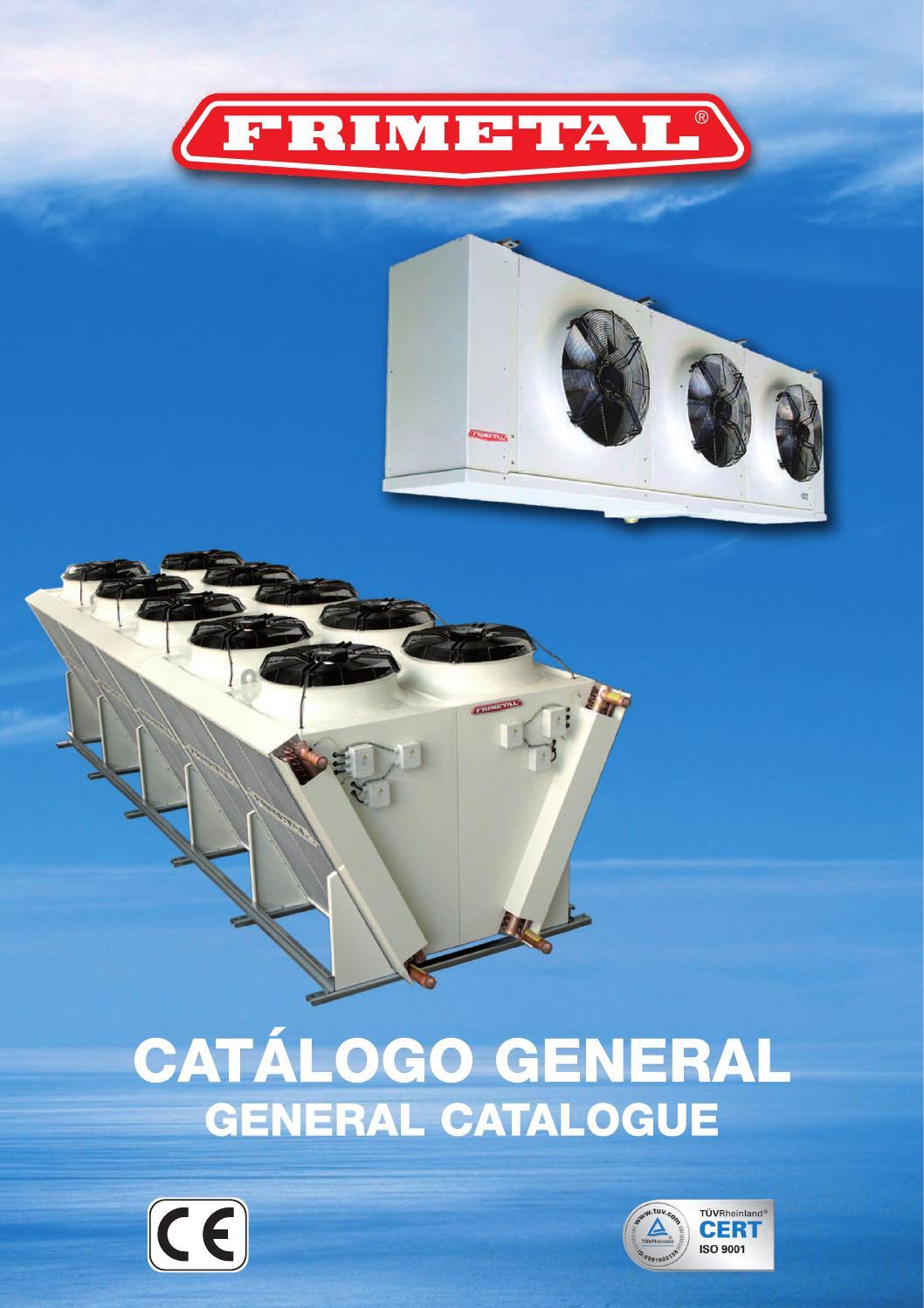 Catalogo general 2013 media by frimetal evaporadores - issuu on