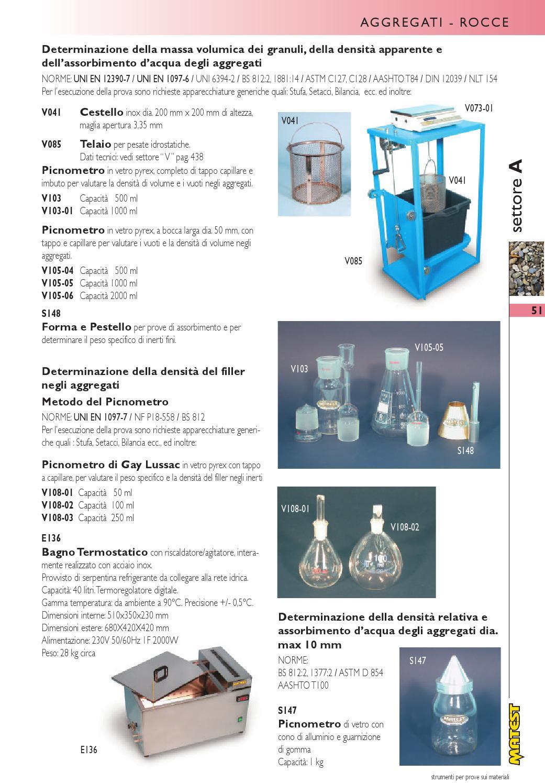 Peso Specifico Vetro.Catalogo Generale Matest 2011 By Psfinteractive Issuu