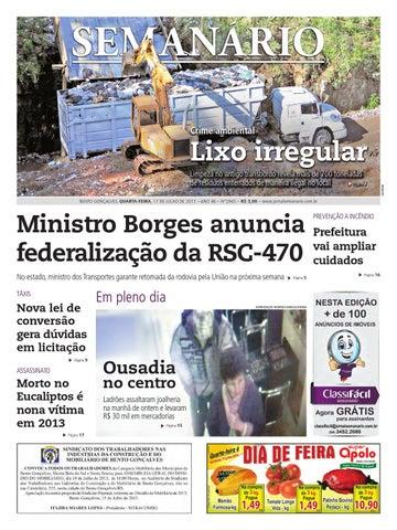 17 07 2013 - Jornal Semanário - Edição 2943 by Jornal Semanário ... 5b1a566f4d