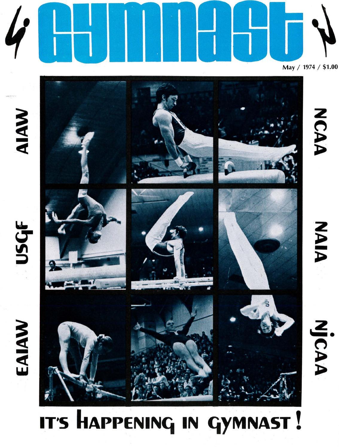 Gymnast Magazine - May 1974 by USA Gymnastics - issuu