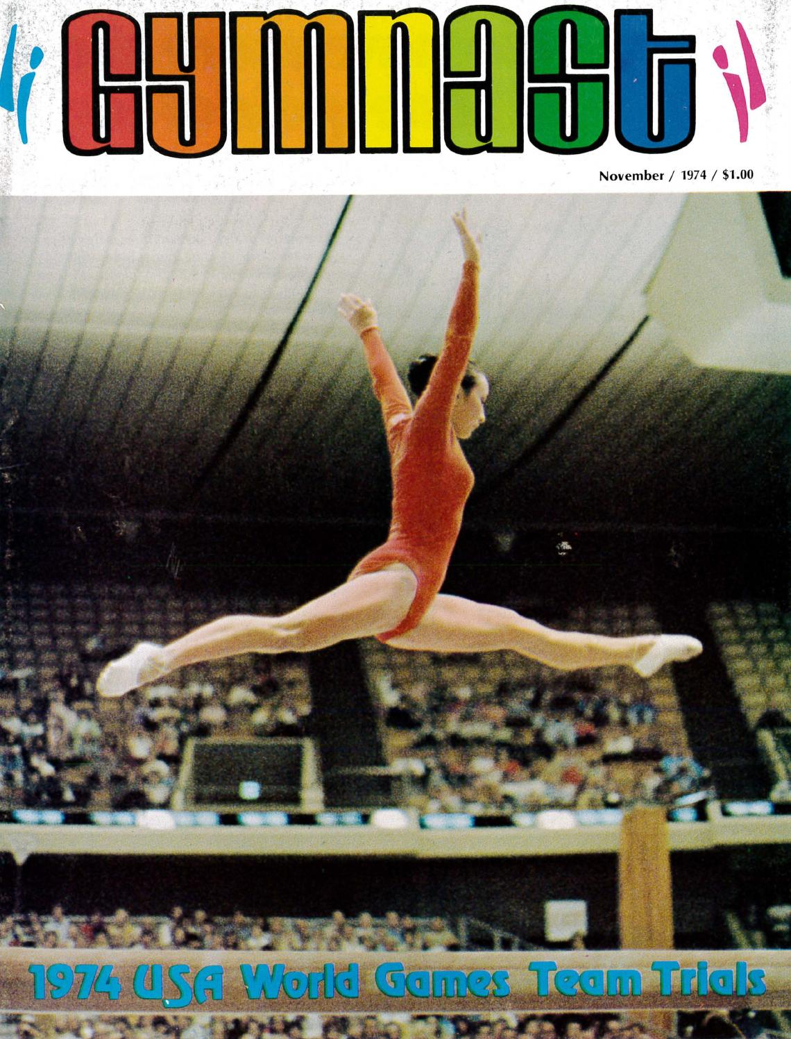 Gymnast Magazine November 1974 By Usa Gymnastics Issuu