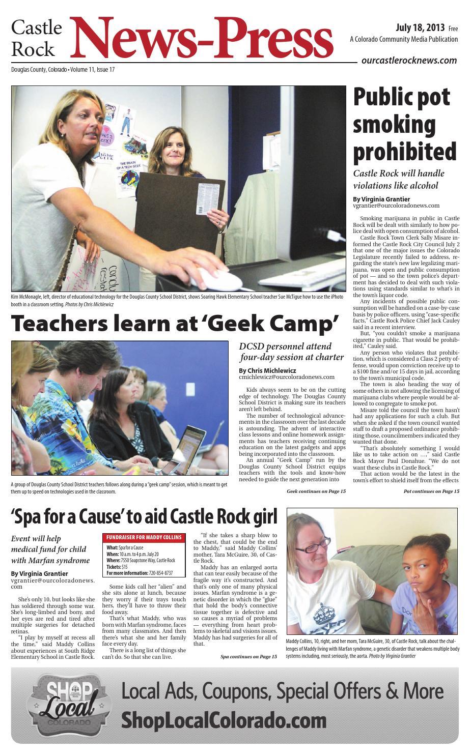 Spr303274che Weihnachten.Castle Rock News Press 0718 By Colorado Community Media Issuu