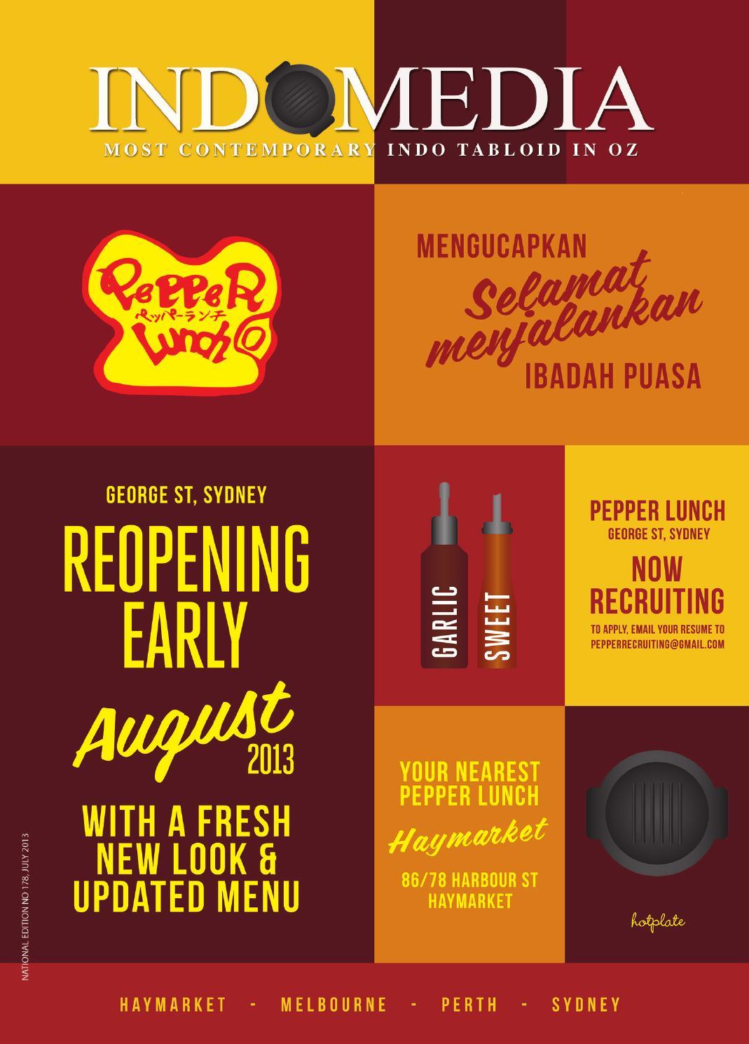 Indomedia July 2013 By Indo Media Issuu Kebab Pisang Coklat Champlo Sf