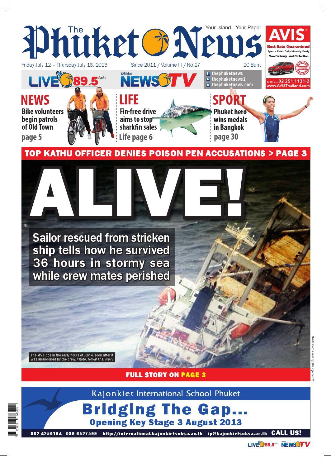 12-07-2013 by The Phuket News - issuu
