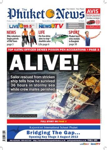 12 07 2013 By The Phuket News Issuu