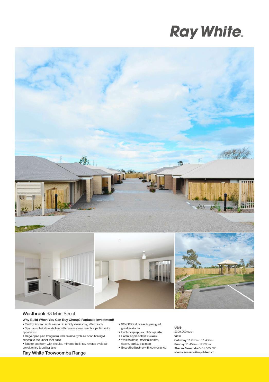 Ray White Toowoomba Range Amp Highfields By Simeon Griggs