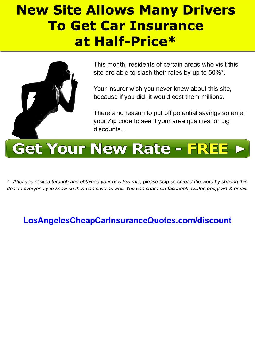 LA California Car Insurance