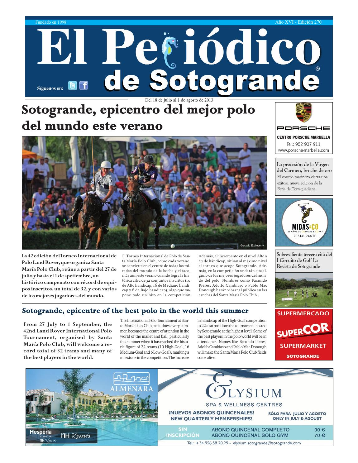 Psg 270 by HCP GROUP SOTOGRANDE - issuu