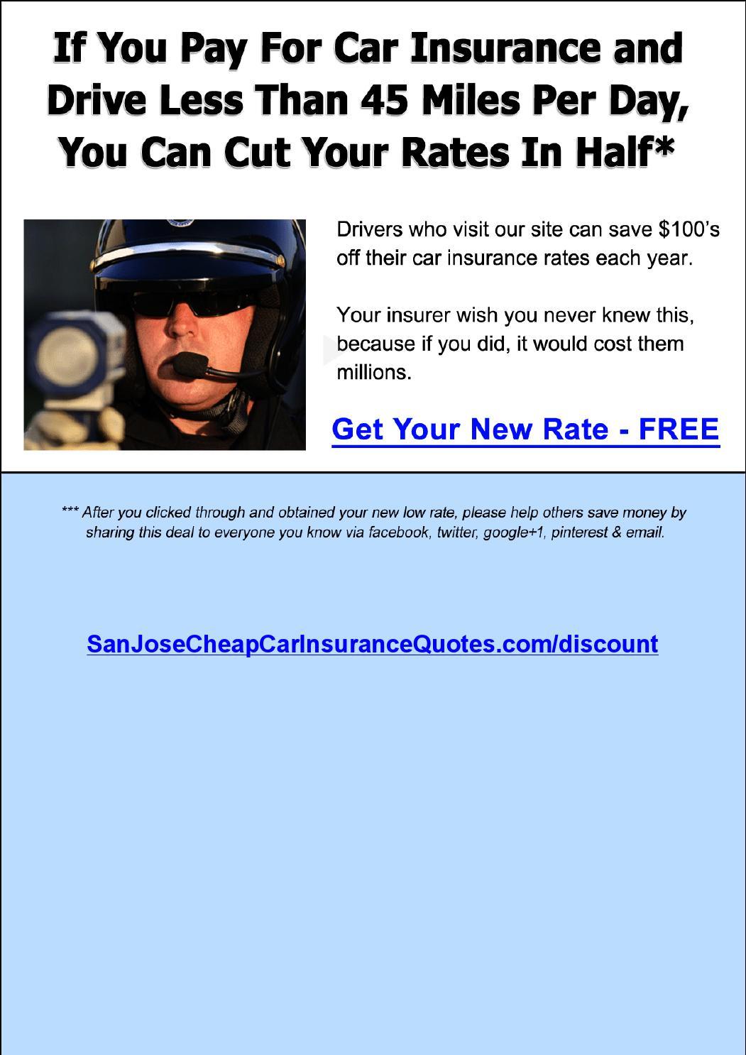 Cheap Car Insurance In San Jose