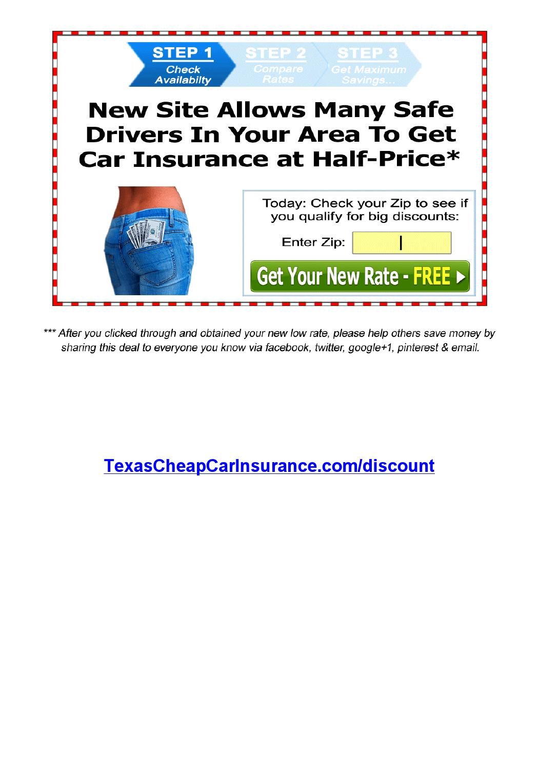 Image Result For Cheap Car Insurance For Texas