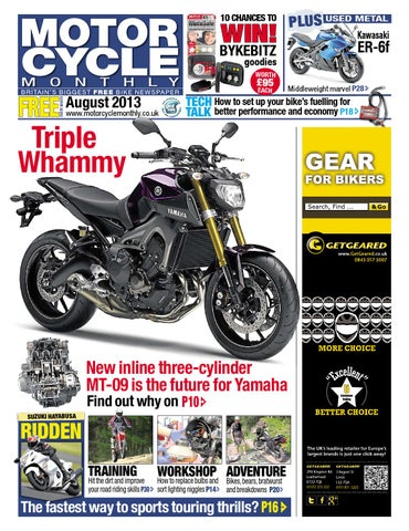 Motor Cycle Monthly - August 2013 by Mortons Media Group Ltd - issuu