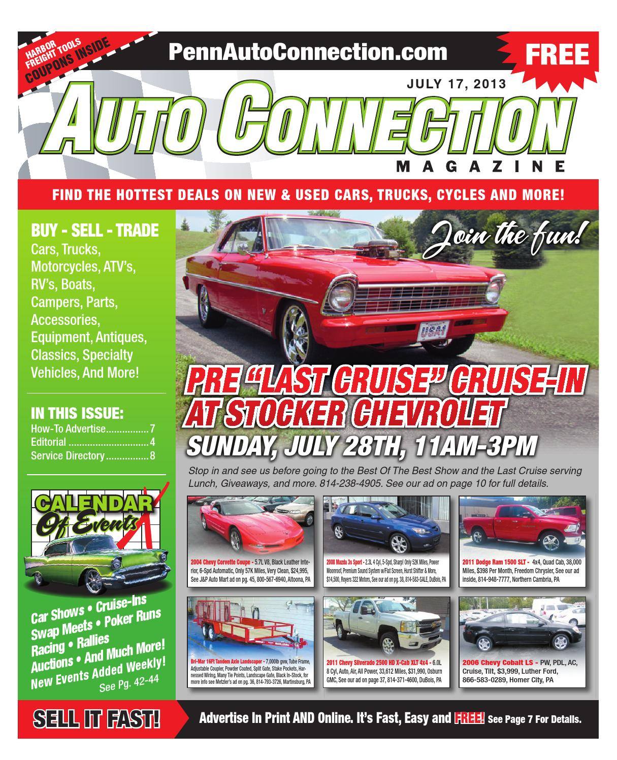 07 17 13 Auto Connection Magazine By Issuu Gauge Complete Car Amplifier Wiring Kit 8 Ga Wire Amp Kit2 Walmart