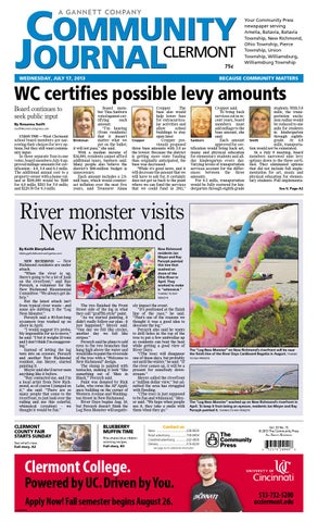 Community journal clermont 071713 by enquirer media issuu page 1 sciox Choice Image