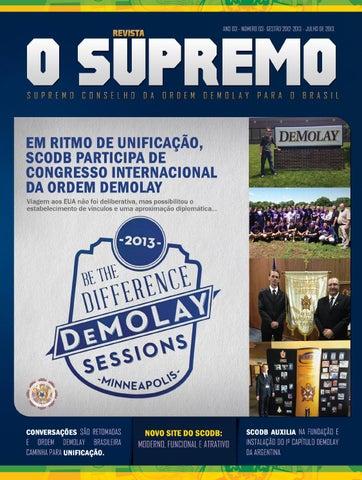 ffe31dad5e0 Revista O Supremo 03 by Supremo Conselho da Ordem DeMolay para o ...