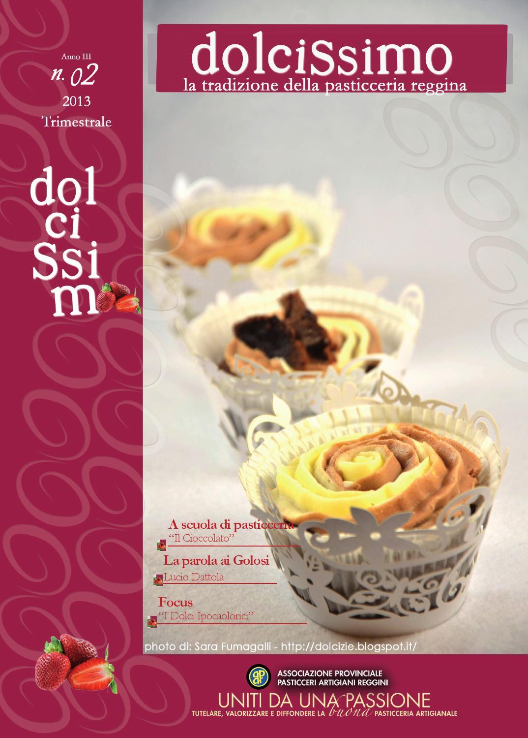 22x30 7rivista dolcissimogiugno2013 rivista by letizia for Pasticceria fumagalli