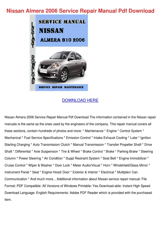 nissan 2009 sentra owners manual pdf download