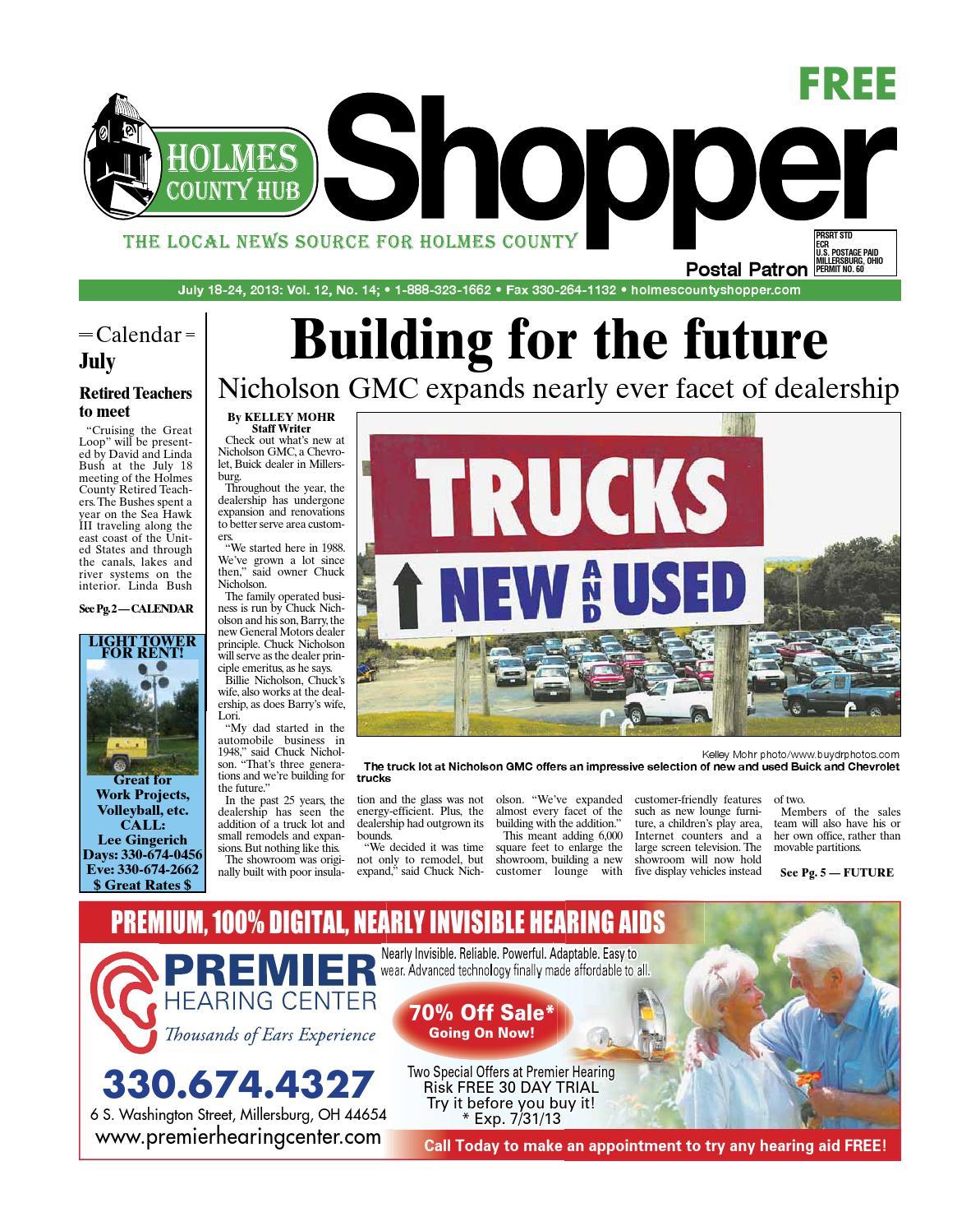 Holmes county hub shopper july 18 2013 by gatehouse media neo issuu fandeluxe Gallery
