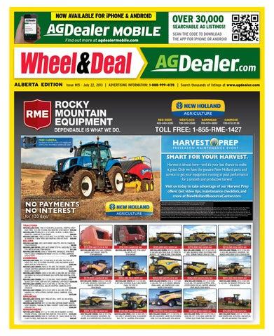Wheel Amp Deal Alberta July 22 2013 By Farm Business Communications Issuu