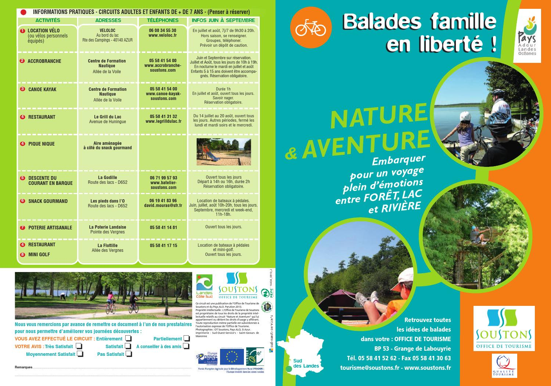 Balade famille nature et aventure soustons 2013 by office - Office de tourisme capbreton ...