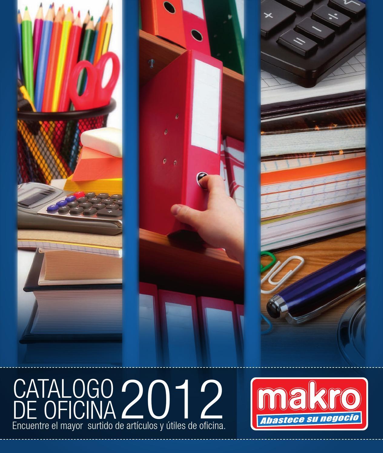 Makro Catálogo de Oficina 2012 by Makro-Peru Makro - issuu