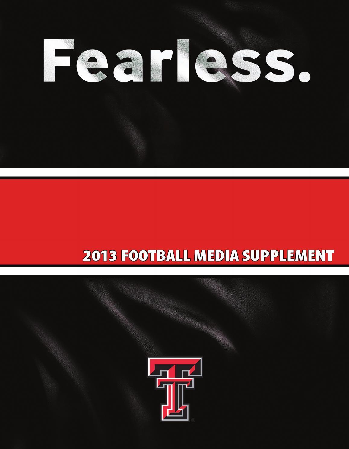 2013 Texas Tech Football Media Supplement by Texas Tech Athletics ...